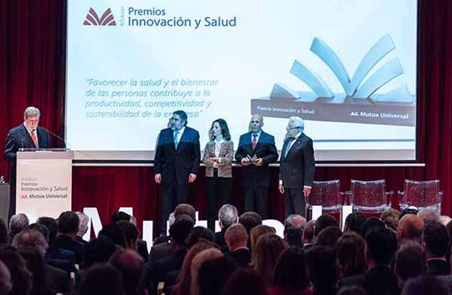CIRSA, FINALISTA EN LOS PREMIOS INNOVACIÓN Y SALUD DE MUTUA UNIVERSAL