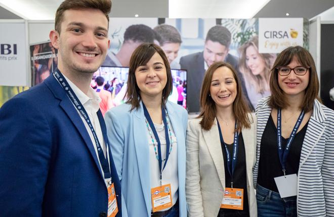 CIRSA asiste por segundo año consecutivo al Congreso Internacional de Empleo y Orientación Profesional JOBarcelona
