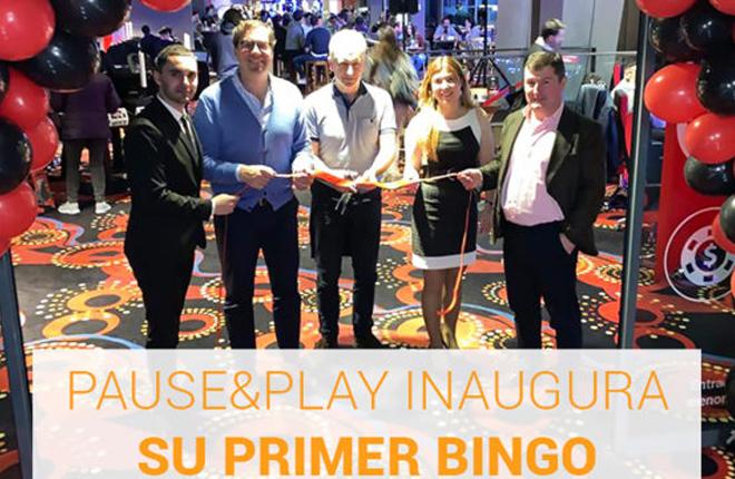 Pause&Play inaugura su primer Bingo