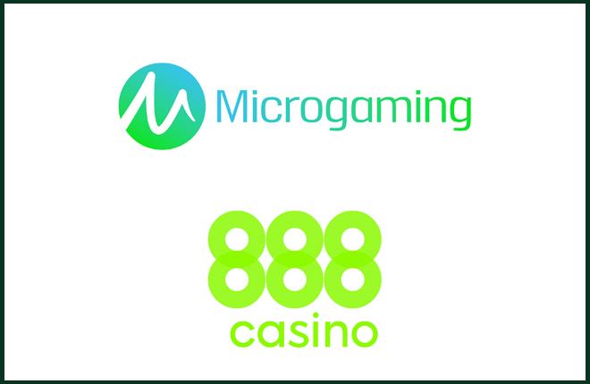 Los juegos premiados de Microgaming están disponibles en vivo en 888 Casino