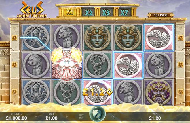 Microgaming lanza Ancient Fortunes: Zeus