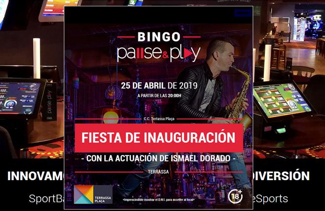Pause&Play estrenará su oferta de bingo en el Centro Comercial Terrassa Plaça