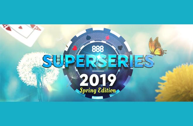 Las 888 SuperSeries Spring Edition 2019 repartirán 190.000 euros en premios