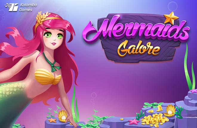 Kalamba Games se sumerge en el océano con Mermaids Galore