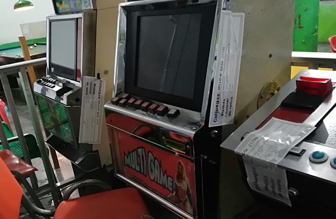 Coljuegos junto con la Policía retiraron 114 máquinas ilegales en los departamentos Atlántico, Antioquia, Bolívar y Caldas