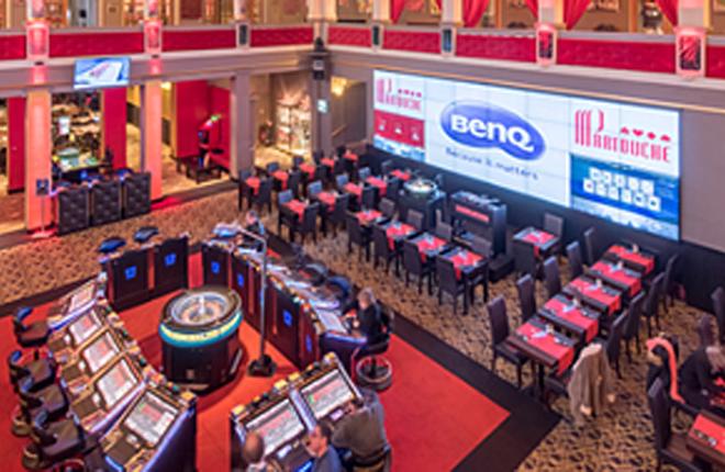 Casino Partouche aumenta sus visitantes con un video wall
