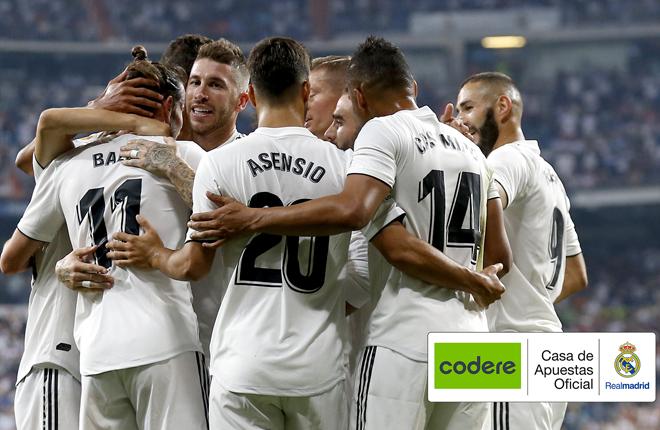 Codere será Casa Oficial de Apuestas del Real Madrid hasta 2021