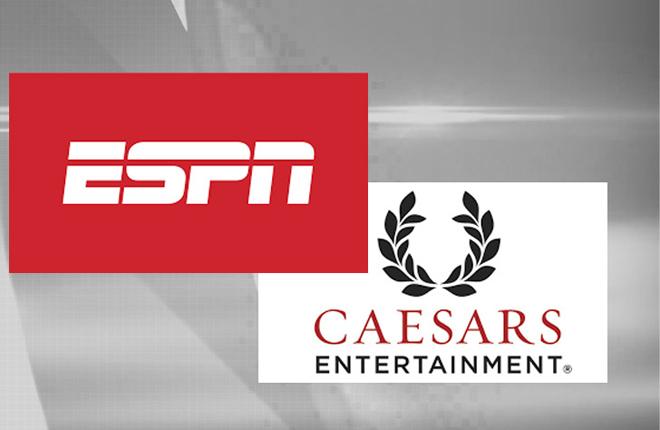ESPN se une a Caesars para promocionar las apuestas deportivas