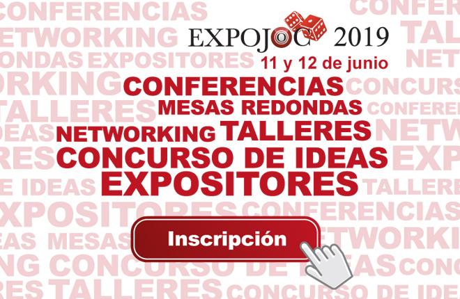 ABIERTA LA INSCRIPCIÓN A EXPOJOC 2019