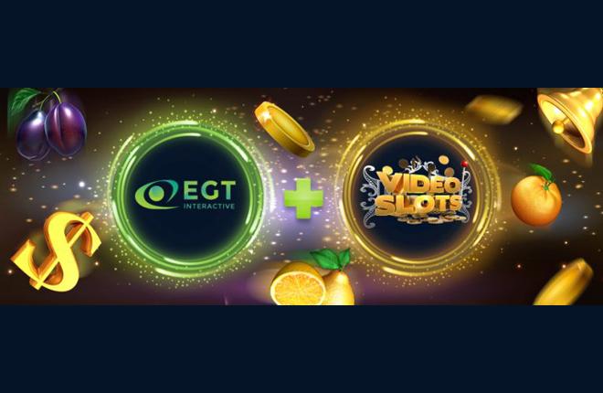 Videoslots integra el contenido de EGT Interactive