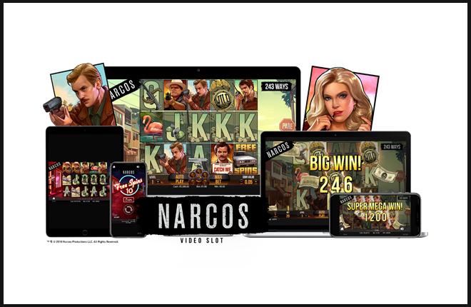NetEnt une sus fuerzas con Gaumont para lanzar la video slot Narcos de manera muy anticipada