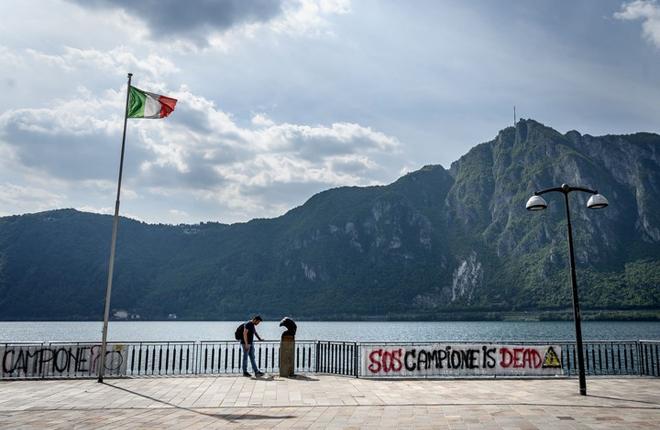 Un pueblo de Italia en bancarrota por el cierre del mayor casino de Europa