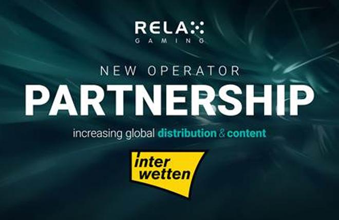 Relax Gaming se asocia con Interwetten