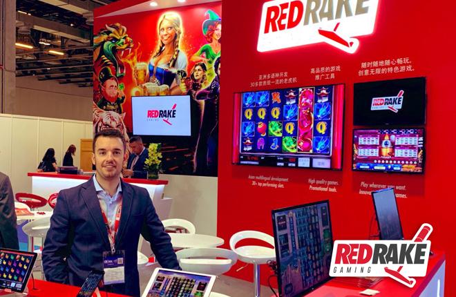 Gran éxito de Red Rake Gaming tras su paso por Global Gaming Expo Asia (G2E Asia)