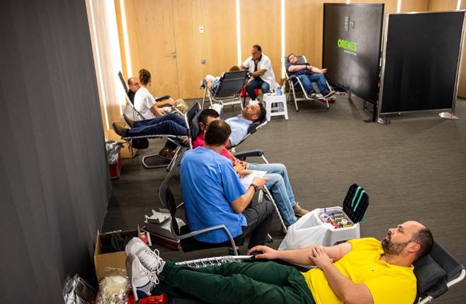 Grupo Orenes se suma a la campaña del Centro Regional de Hemodonación Ven a donar sangre, comparte la vida con nosotros