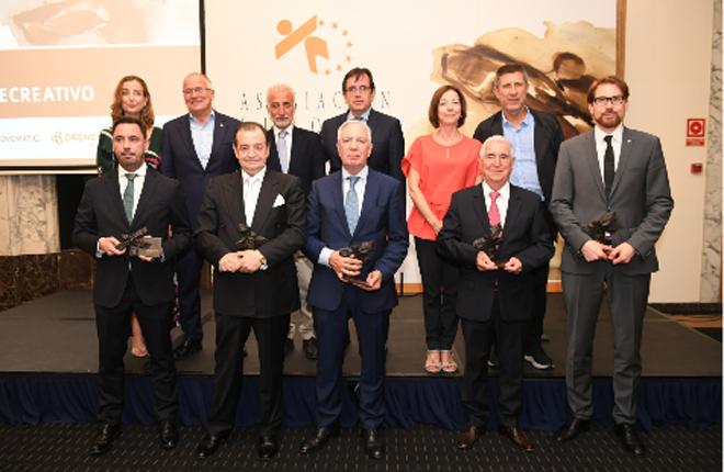 Galardonados en la IX edición de los premios del Recreativo