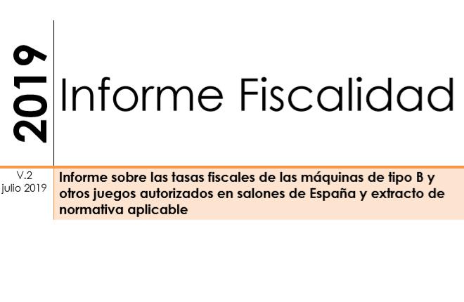 Actualizado el informe de ANESARsobre fiscalidad